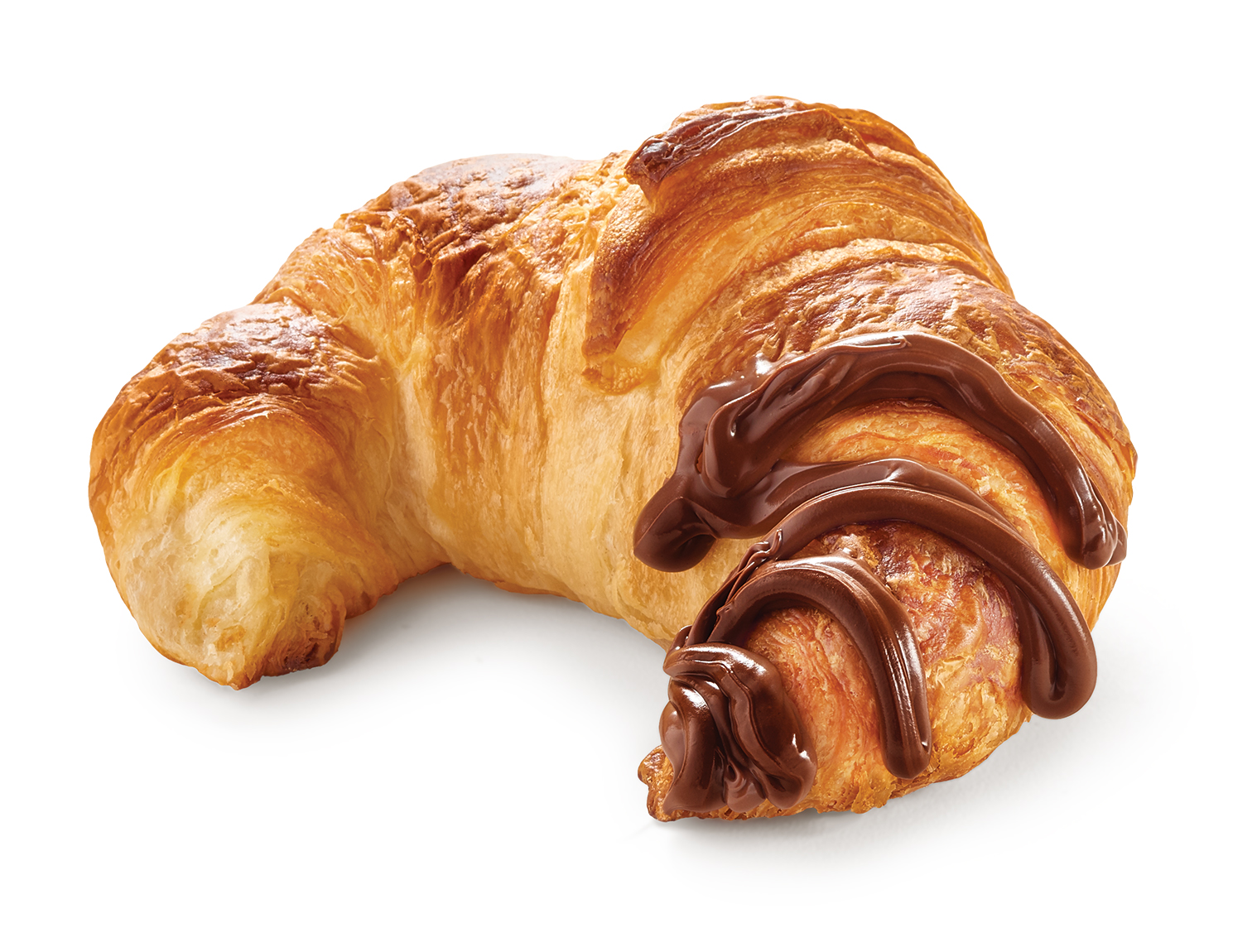 Oven Delights Classic Croissant with Spread Delights spread on top