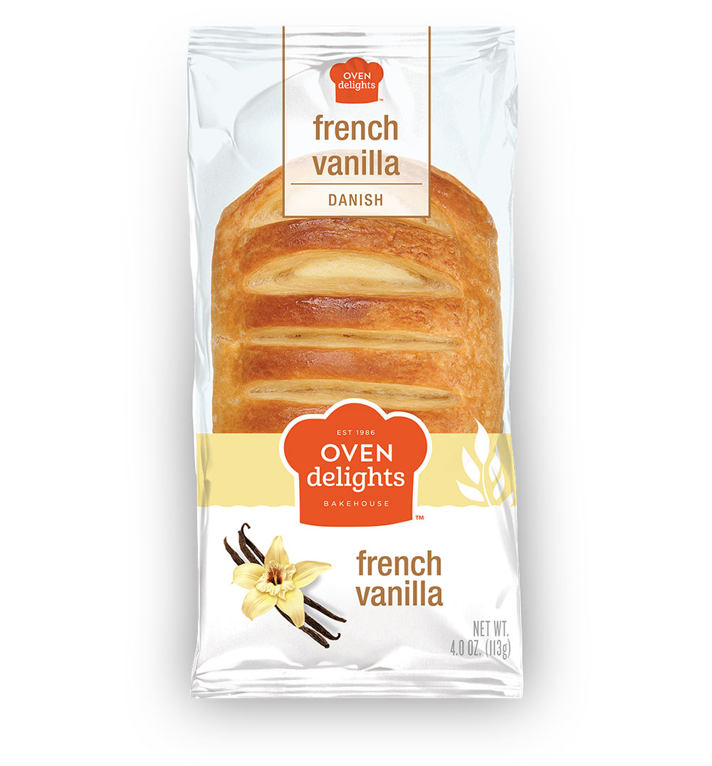 French Vanilla Danish from Oven Delights