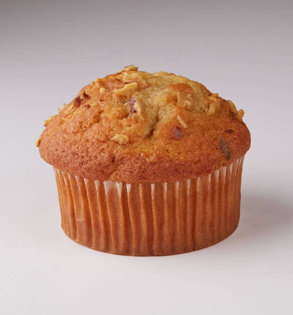 Oven Delights Banana Nut Muffin Unwrapped