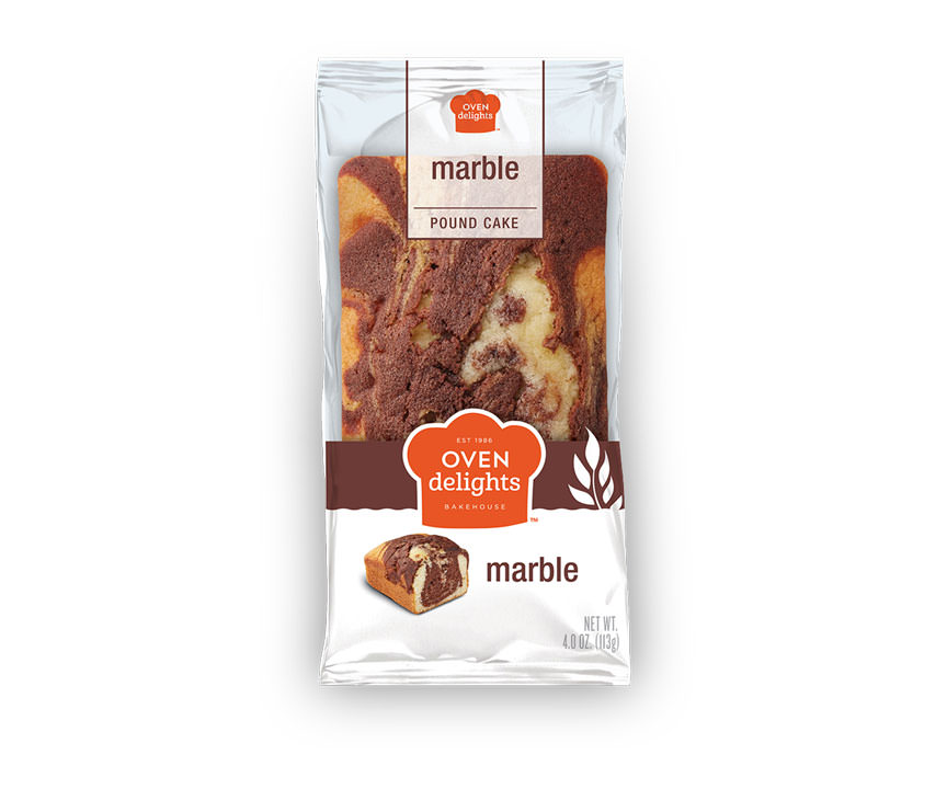 Marble Pound Cake in package